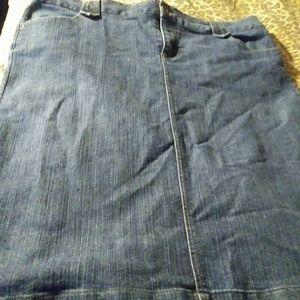 Dresses & Skirts - Jeans skirt